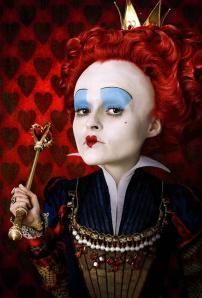 helena bonham-carter as the red queen