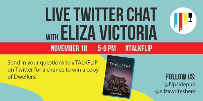 Live twitter chat eliza victoria
